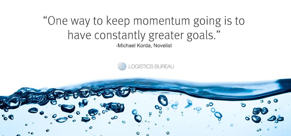 Michael Korda Goals Quote