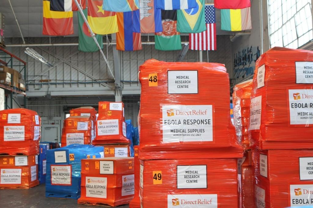 logistics challenge of ebola