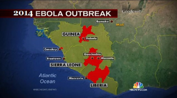 outbreak of ebola