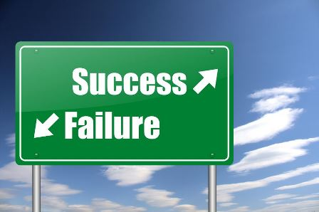 success or failure in the organizational